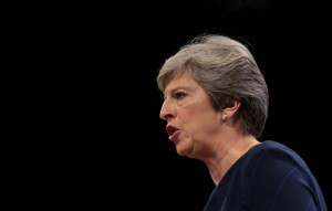 British Prime Minister Theresa May is a supporter of the ban on energy drinks to minors. File Photo by Hugo Philpott/UPI | License Photo