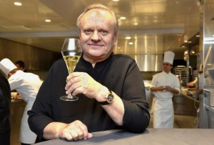 French chef Joel Robuchon died at the age of 73 in Geneva, Switzerland, on Monday, the French government announced. Photo by Christian Brun/EPA