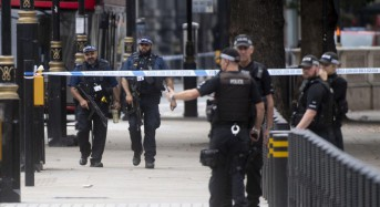 Man rams crowd at London Houses of Parliament; terrorism suspected