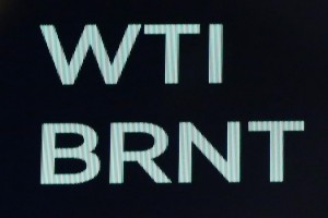 The symbols and prices for Brent Crude Oil and WTI Crude Oil are on a display board on the floor of the NYSE at the opening bell at the New York Stock Exchange on Wall Street in New York City on August 17, 2018. Photo by John Angelillo/UPI | License Photo