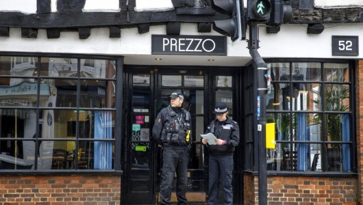 Couple sickened at British restaurant; police rule out novichok