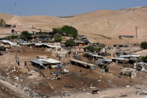 The Israeli Supreme Court did not order immediate evictions of villagers in Khan al-Ahmar. File Photo by Debbie Hill/UPI | License Photo