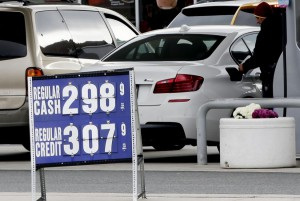 Gas prices are expected to remain high through the Labor Day weekend, the U.S. Energy Information Administration said Friday. File photo by John Angelillo/UPI | License Photo