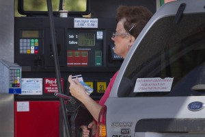 Average gasoline prices remain steady this week, according to AAA. Average prices nationwide are $2.85 a gallon. File Photo by Gary C. Caskey/UPI | License Photo