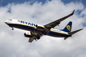 Many Ryanair employees went on strike Friday, causing flight disruptions across Europe. Photo by Senohrabek/Shutterstock/UPI
