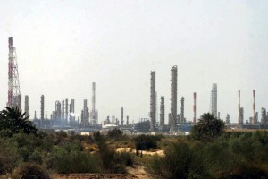 Saudi Arabia could increase oil production by 500,000 to compensate for U.S. sanctions on Iran, analysts say. But the kingdom has kept quiet about its plans. STR/EPA