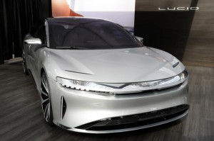 Lucid Motors received a $1 billion investment from Saudi Arabia Monday that will get the Lucid Air electric vehicle through to commercialization by 2020. Photo by Jason Szenes/EPA