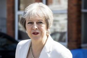 "British Prime Minister Theresa May said she won't be ""pushed into accepting compromises"" on a Brexit deal and won't hold a second referendum on the issue. File Photo by Will Oliver/EPA"