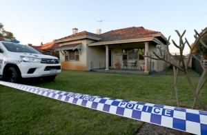 Up to five people died in a home in Perth, Australia and a man in his 20s was in custody after turning himself in to a regional West Australian police station on Sunday morning. Photo by Richard Wainwright/EPA