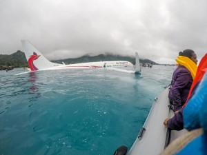 U.S. Navy sailors assisted authorities in rescuing passengers and crew of an Air Niugini flight in Chuuk, Micronesia, Friday. Photo by Lt. Zach Niezgodski/U.S. Navy/UPI   License Photo   License Photo