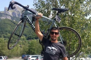 Marc Sutton, 34, was an avid mountain biker and owned a restaurant in the French Alps. Photo via Marc Sutton/Facebook