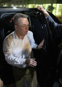 U.S. pastor Andrew Brunson (C) arrived at Izmir Adnan Menderes Airport Friday to catch a plane to Germany and then to the United States after being released as a hostage from Turkey. Photo by Erdem Sahin/ EPA-EFE