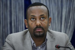 Ethiopia's Preme Minister Abiy Ahmed announced Tuesday that half of the new cabinet ministers will be women. File Photo by Str/EPA-EFE