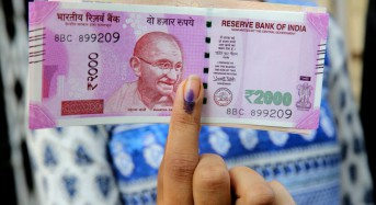 India's currency falls to all-time low against U.S. dollar