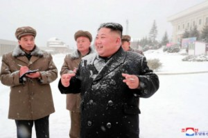 North Korea's Kim Jong Un made his first public appearance in 19 days in Samjiyon County, according to state media. Photo by KCNA