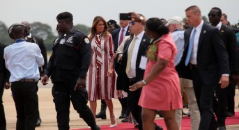 Melania Trump embarks on first solo trip — to Africa