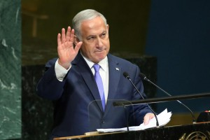 Prime Minister Benjamin Netanyahu was grilled for five hours Friday. Photo by Monika Graff/UPI | License Photo