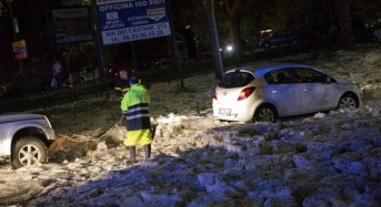 Severe storms bring hail, flooding, strong winds to Italy