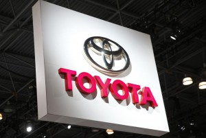 Toyota announced Thursday that it's partnering with Softbank on new mobility services. File Photo by John Angelillo/UPI | License Photo