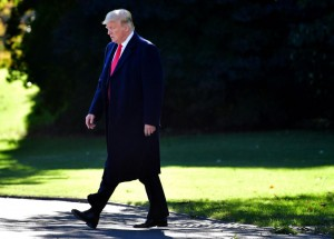 """President Donald Trump said he believes there has been """"deception"""" and """"lies"""" regarding Saudi Arabia's account of the death of Washington Post contributing journalist Jamal Khashoggi. Photo by Kevin Dietsch/UPI 