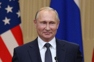 Russian President Vladimir Putin berated former spy Sergei Skripal at an energy summit in Moscow Wednesday. File Photo by David Silpa/UPI | License Photo