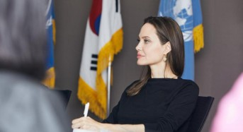Angelina Jolie visits Seoul to call for protection for Yemeni refugees