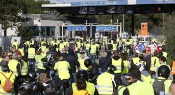 French protester run over, killed during anti-fuel tax blockade