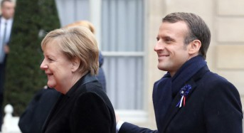 Macron renounces 'nationalism' at WWI commemoration in France