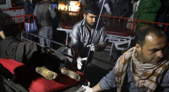Suicide blast at Kabul hotel kills dozens