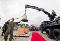Balangiga Bells return to Philippines after 117 years as U.S. war trophies