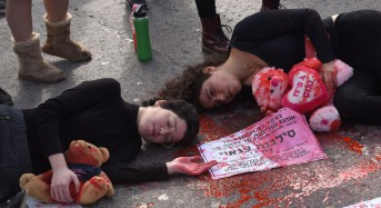 Thousands across Israel protest violence against women