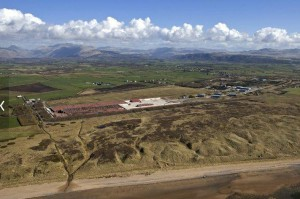 A low-level nuclear waste management facility in Cumbia, United Kingdom, is part of the U.K.'s nuclear deterrence program. Photo courtesy of AECOM