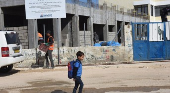End of U.S. aid dooms partly-built school, other projects in West Bank