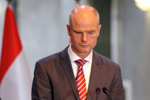 "Dutch Foreign Minister Stef Blok said the Netherlands' secret service had ""strong indications"" Iran was involved in the assassination of Dutch nationals in Almere in 2015 and in The Hague in 2017, as the European Union sanctioned two Iranian individuals and a unit of the Iranian intelligence agency Tuesday. Photo by Ahmed Jalil"