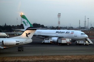 Germany has banned Mahan Air from flying to Germany in a government bid to impose new sanctions against Iran. File Photo by Abedin Taherkenareh/EPA-EFE