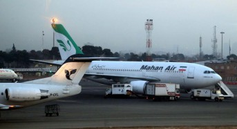 Germany bans Iran's Mahar Air from airspace