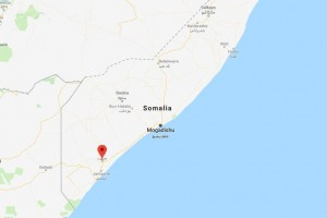 U.S. Africa Command said Saturday it conducted an airstrike in southern Somalia. Image courtesy Google Maps