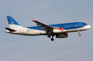 British airline Flybmi announced it has canceled all of its flights and filed for administration, citing issues related to Brexit. Photo courtesy Kambui/Wikimedia Commons