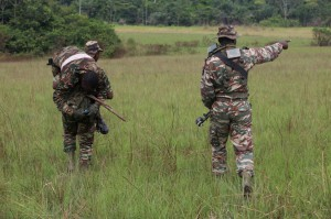 Cameroon soldiers participate in a field training exercise in Gabon on June 21, 2016. File Photo by SgT. Sha'Quille Stokes/U.S. Army