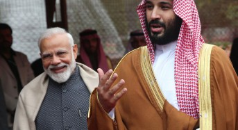 Saudi crown prince, Indian PM vow to fight terrorism