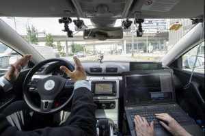 U.K.'s Department of Transport updated its code of practice for automated vehicles to allow cars to be tested without a driver in the vehicle. Photo by Ennio Leanza