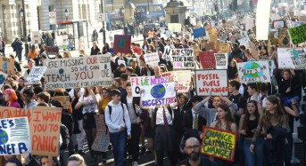 Thousands of British students skip school to protest climate change