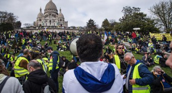 French Yellow Vest protesters have calmer week