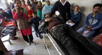 India police arrest teen boy for deadly grenade attack