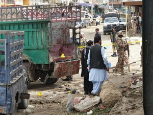 A bomb blast in an open-air market in Quetta, Pakistan, killed at least eight members of the persecuted Hazara community, who have repeatedly been the target of sectarian violence as they are Shiite Muslims