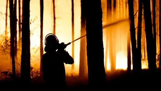 400 firefighters battle Germany forest fire amid spring heat
