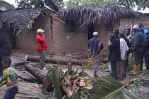 Tropical Cyclone Kenneth destroyed thousands of homes in Mozamique, displacing about 18,000 people, officials said.