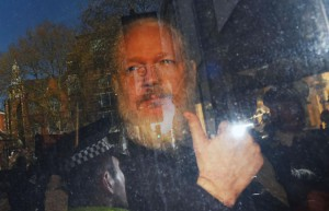 Wikileaks co-founder Julian Assange arrived at Westminster Magistrates Court in London, Britain, Thursday after he was arrested. The next day, 70 British lawmakers urged the government to extradite Assange to Sweden to face a 2012 rape allegation if the case is re-opened