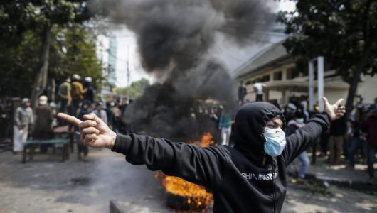 6 dead, 200 injured in Indonesia election protests