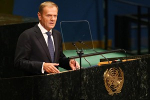 European Union Council President Donald Tusk said a second referendum should be held